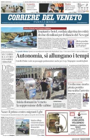 Corriere del Veneto (Padova e Rovigo)