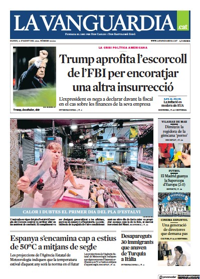 Read full digital edition of La Vanguardia (Catalan) newspaper from Spain