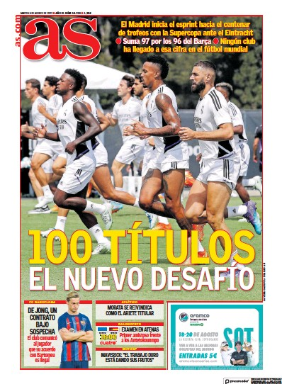 Read full digital edition of Diario AS (Las Palmas) newspaper from Spain