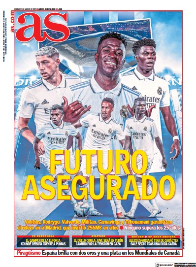 Read full digital edition of Diario AS (Sevilla) newspaper from Spain