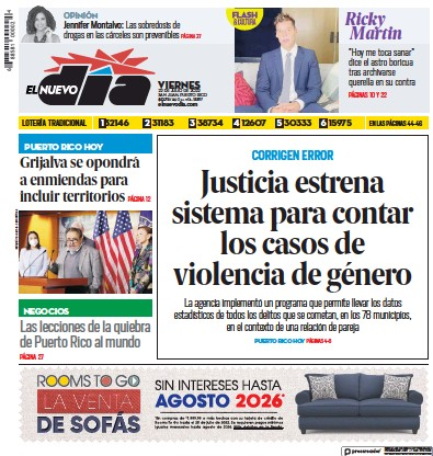 Read full digital edition of El Nuevo Dia newspaper from Puerto Rico