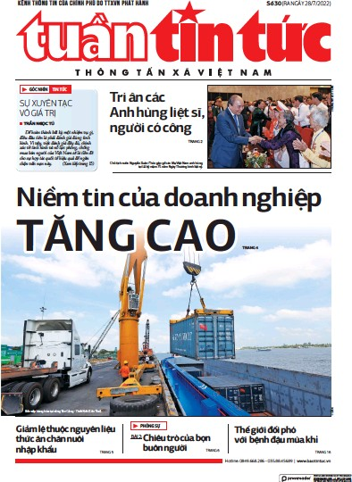 Read full digital edition of Tin Tuc newspaper from Vietnam