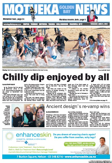 Read full digital edition of Motueka News newspaper from New Zealand