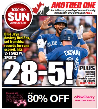 Read full digital edition of Toronto Sun newspaper from Canada