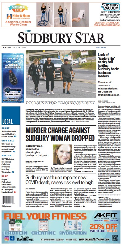 Read full digital edition of The Sudbury Star newspaper from Canada