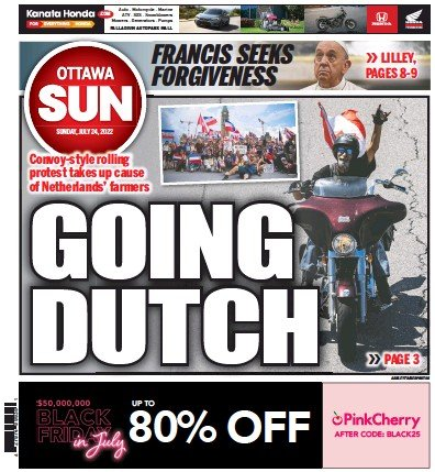 Read full digital edition of Ottawa Sun  newspaper from Canada