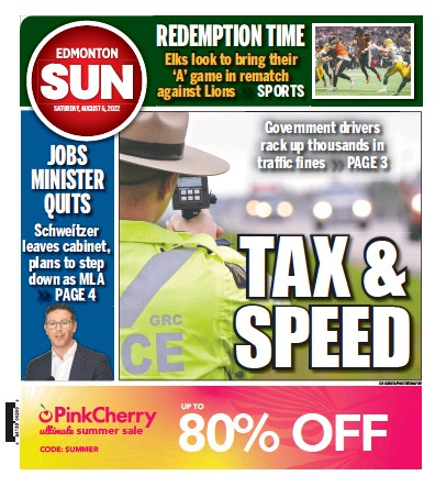 Read full digital edition of Edmonton Sun newspaper from Canada