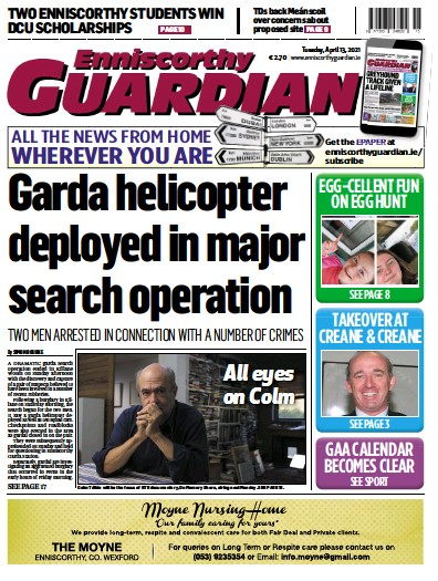 Read full digital edition of Enniscorthy Guardian newspaper from Ireland