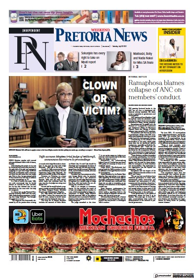 Read full digital edition of Pretoria News Weekend newspaper from South Africa