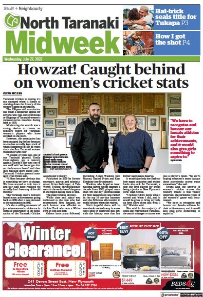 Read full digital edition of North Taranaki Midweek newspaper from New Zealand