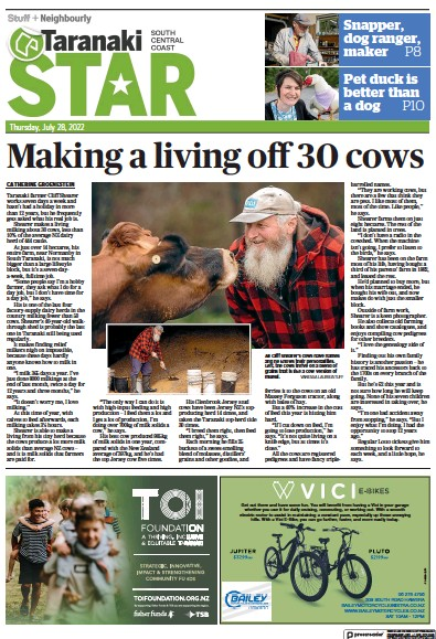 Read full digital edition of South Taranaki Star newspaper from New Zealand