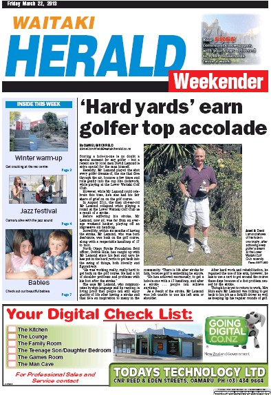 Read full digital edition of Waitaki Weekender newspaper from New Zealand