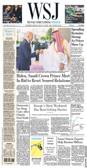 Aktuální vydání Wall Street Journal