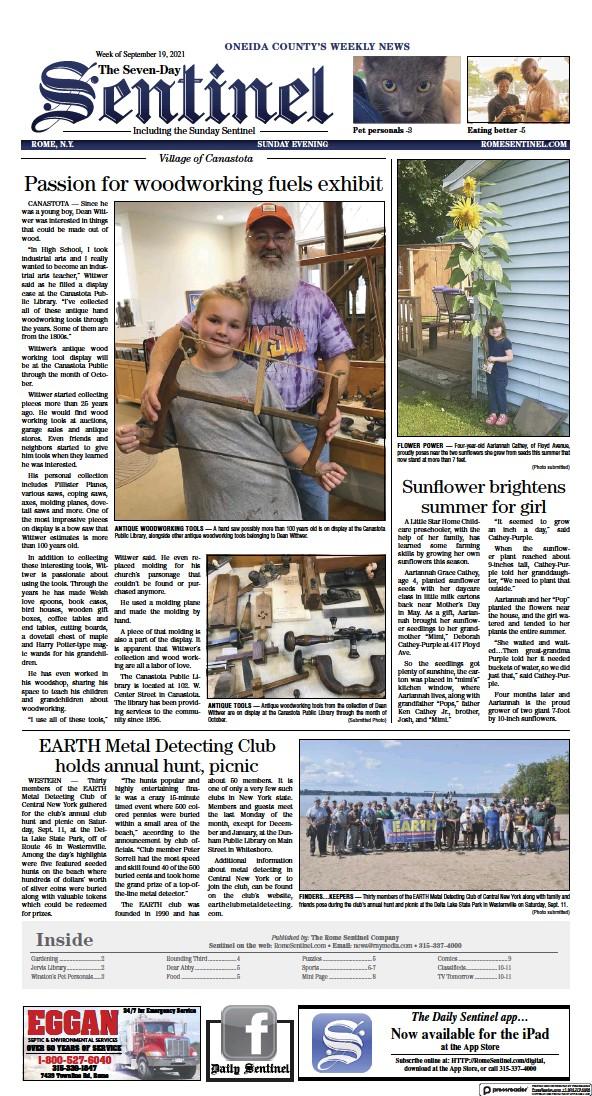 Sunday Sentinel's Edition