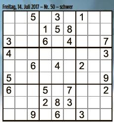 Pressreader Tageblatt Luxembourg 2017 07 14 Sudoku