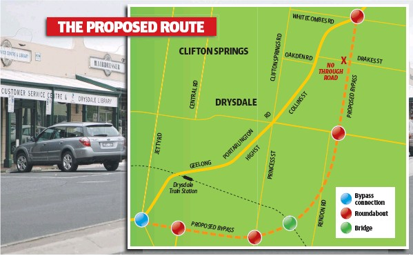 Drysdale Bypass Map Images