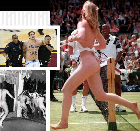 Nudist pageant