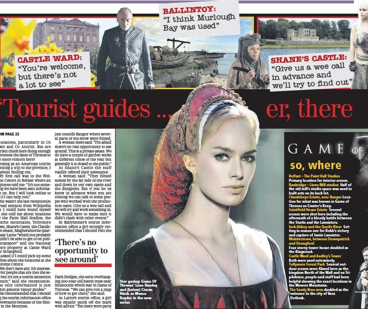 Pressreader Belfast Telegraph 2013 02 27 Was Epic Filmed