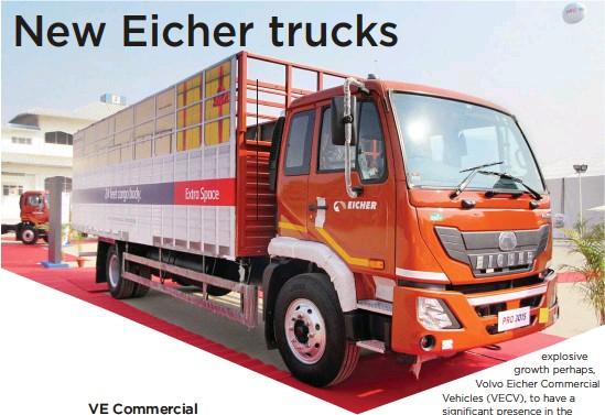 Pressreader Commercial Vehicle 2018 02 17 New Eicher Trucks