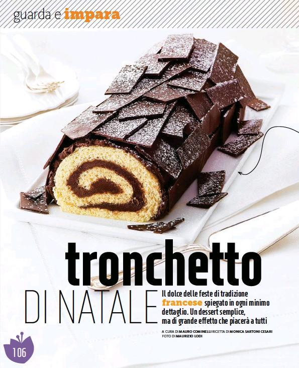 Dolce Di Natale Giallo Zafferano.Pressreader Giallo Zafferano 2018 11 21 Tronchetto Di Natale