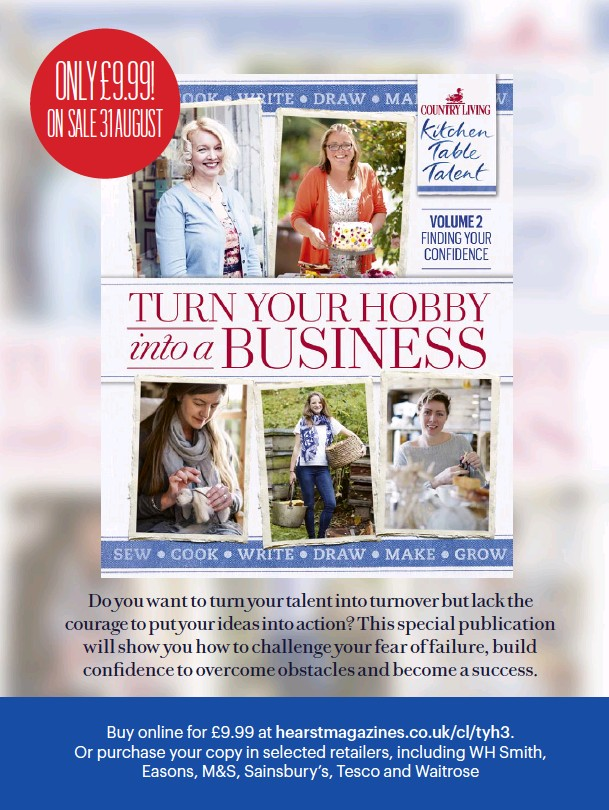Pressreader Country Living Uk 2017 09 01 Turn Your Hobby Into A Business