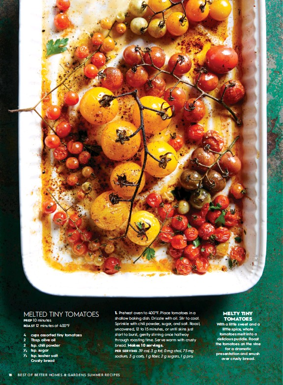 Melted Tiny Tomatoes Pressreader