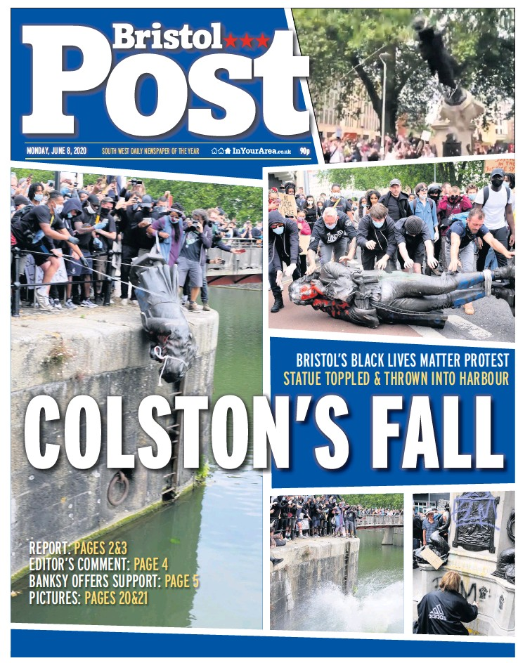 PressReader - Bristol Post: 2020-06-08 - COLSTON'S FALL