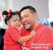 ??  ?? Blake Azalee and Benjamin Yong