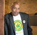 ?? ASHLEE REZIN GARCIA/SUN-TIMES ?? Vincent Norment says he and his partners have already shelled out more than $20,000 for a down payment on a proposed craft cultivation center in Broadview.