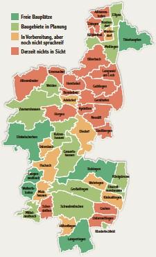??  ?? Bauplatzreport für den Landkreis Augsburg
