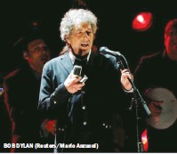 ??  ?? BOB DYLAN (Reuters/Mario Anzuoni)