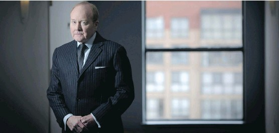 """?? TYLER ANDERSON/ NATIONAL POST STAFF PHOTO ?? Ian Russell, president and chief executive of the Investment Industry Association of Canada, says Canada's bond market isn't """"as deep and resilient as the U.S. market."""" International regulations that make it more expensive for banks to hold bonds are..."""