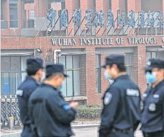 ??  ?? INSTITUTO DE Virología de Wuhan (WIC), en el centro de todas las acusaciones por el Covid-19.