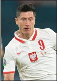 ??  ?? Poland striker Robert Lewandowski was on target