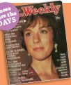 ??  ?? Julie Andrews was held up as an example of how life begins at 40 in the November 7, 1977 issue of the Weekly.