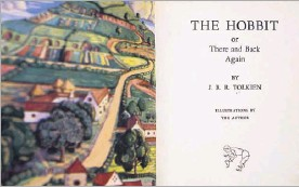 """?? Kara Dry/special Contributor ?? A first edition of J.R.R. Tolkien's The Hobbit that was taken from the University of North Texas' library in 1974 was returned by mail, along with an anonymous typed letter that reads, """"Sorry to have deprived you of it for all these years."""""""