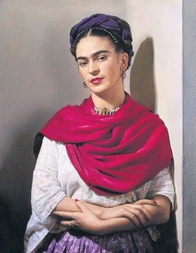 """?? CONTRIBUTED PHOTO ?? """"Frida Kahlo: Through the Lens of Nickolas Muray,""""an exhibition of photographs on view at the Reading Public Museum through Jan. 18."""