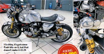 ??  ?? It's shiny, it's got some flash bits on it, but that doesn't make it £12K