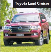 ??  ?? Toyota Land Cruiser