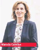 ??  ?? Marcela Cubillos
