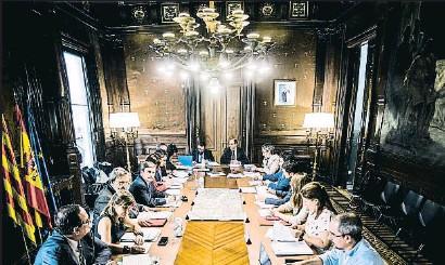 ?? XAVIER CERVERA ?? El consorcio, con nuevos representantes del Estado y la Generalitat, se reunió en la Delegación del Gobierno