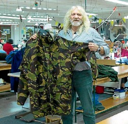 ??  ?? Swazi founder Davey Hughes blames civilians in the Defence Force for ''cost-cutting''.