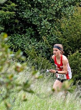 ?? Foto: Freshfocus ?? Drei Starts, drei Medaillen: Die 23-jährige Bernerin Simona Aebersold gehört bereits zu den Schweizer Leistungsträgerinnen.