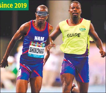 ?? Photo: Nampa ?? Failed promise… For almost two years now, the sport ministry and the NSC are yet to pay athletes their reward policy money as promised in 2019.