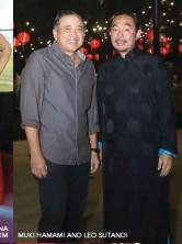 ??  ?? MUKI HAMAMI AND LEO SUTANDI