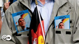 ??  ?? Thuringia's far right extremist leader Björn Höcke has many fans in the party