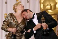 ??  ?? Revanche. Fini la « cancritude », « The Artist » l'oscarise meilleur acteur en 2012.