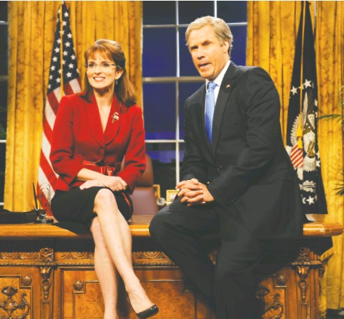 ?? Dana Edelson / NBC ?? Among the top-notch impression­s that have left their mark on Saturday Night Live over the years