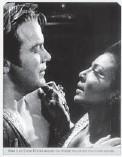??  ?? Captain Kirk and Lieutenant Uhura share TV's first interracial smooch.