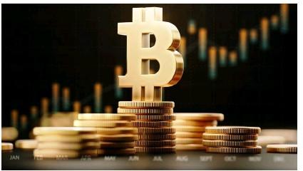 ?? © ISTOCK / CITY PRESSE ?? Alors que le bitcoin a atteint les 50 000 $ en février, cette cryptomonnaie convainc un public toujours plus large.